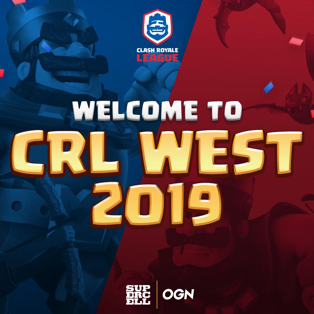 Clash Royale League West (CRL West) – OGN Esports